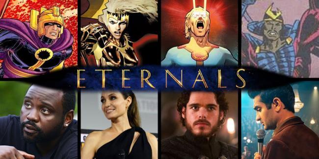 Актеры фильма Вечные (Марвел) 2020 года