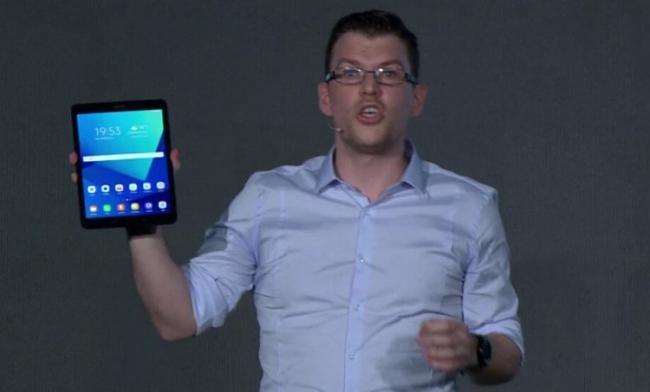 Samsung представила Galaxy Tab S3 и Galaxy Book